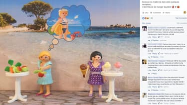 """Selon Playmobil, ses personnages féminins doivent passer """"l'épreuve du maillot""""."""