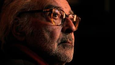 Le réalisateur Jean-Luc Godard, en 2010.