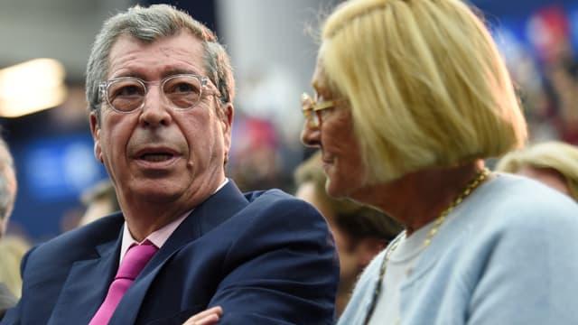 Les époux Balkany, qui dirigent la ville de Levallois-Perret, lors d'un meeting de l'UMP le 25 novembre dernier.