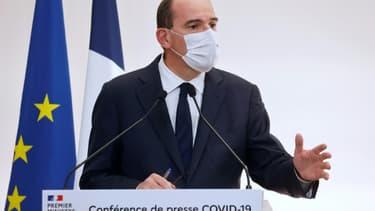 Le Premier ministre Jean Castex, le 15 octobre 2020 à Paris