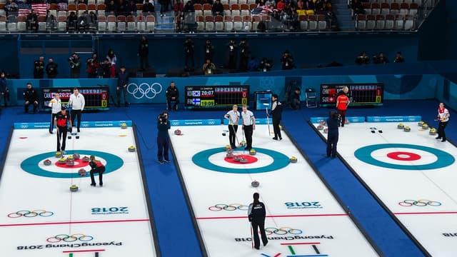 Le curling ouvre ces JO 2018