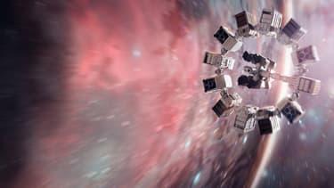 """Dans """"Interstellar"""", la Nasa envoie un équipage à travers un """"trou de ver""""."""