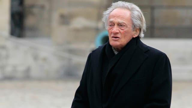 Philippe Tesson à Paris le 13 mars 2012.