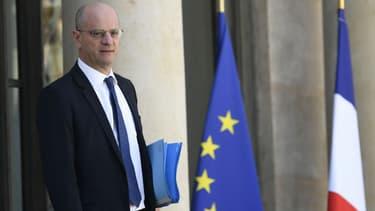 Le ministre de l'Education nationale Jean-Michel Blanquer, à l'Elysée.