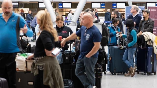 """L'aéroport de Francfort, le plus fréquenté du pays, a subi """"plusieurs"""" annulations, de même que Düsseldorf et Cologne-Bonn"""
