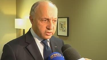 Laurent Fabius a fait part de son inquiétude, lundi, à Bruxelles.