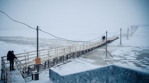 Un parc éolien est en construction sur les cotes d'Arkhangelsk, situé au nord-est du pays, dans l'Arctique.