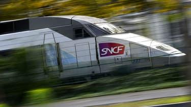 Un TGV à Nantes, en novembre 2017.