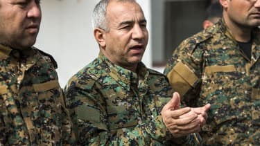 Le commandant  Jia Furat des FDS