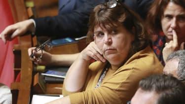 Mireille Robert à l'Assemblée nationale le 26 septembre 2017