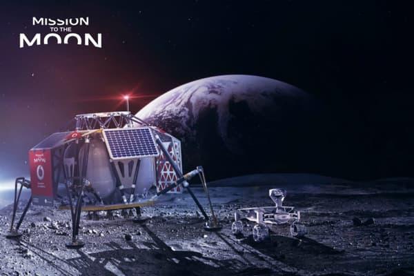 Le réseau 4G devrait arriver sur la Lune dès 2019