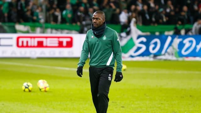 Yannis Salibur, à Saint-Étienne le 16 janvier 2019
