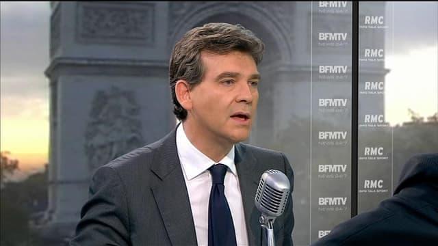 Arnaud Montebourg sur BFMTV