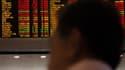 La Bourse de Shanghai a chuté.