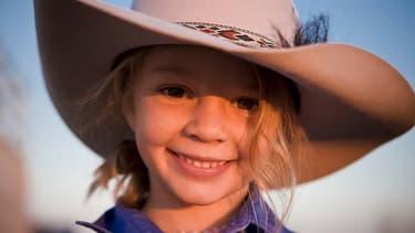 Amy Everett en 2010 dans une publicité pour la marque Akubra Hats.