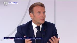 """Emmanuel Macron: """"Dans les années qui viennent, il faudra procéder à une réforme des retraites"""""""