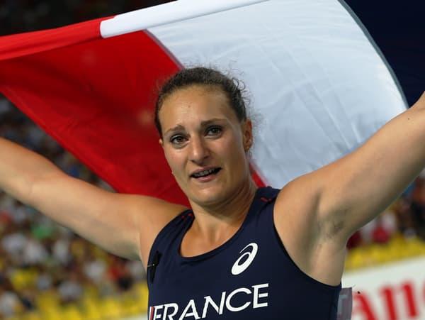 Mélina Robert-Michon médaillée d'argent aux Mondiaux (disque)