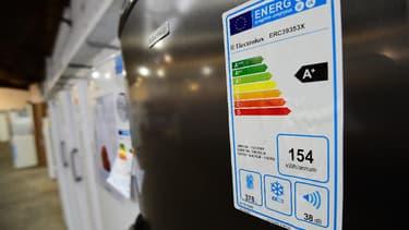 Apposée sur l'ensemble des équipements électroniques, l'étiquette énergie se réinvente. (image d'illustration)