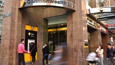 La banque australienne, Commonwealth Bank, a annoncé l'annulation des bonus de ses cadres. (image d'illustration)