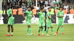 Les joueurs de Saint-Etienne