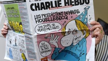 """Le  numéro de """"Charlie Hebdo"""",  du 7 janvier 2015."""
