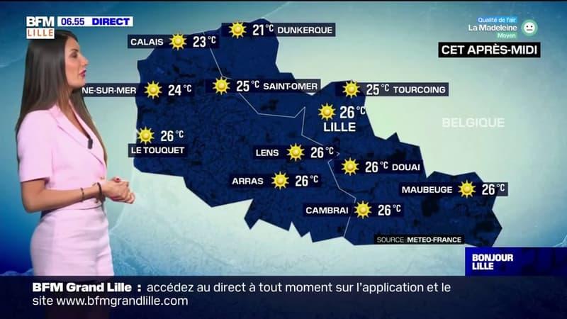 Météo Nord-Pas-de-Calais: ciel bleu et chaleur