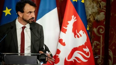 Grégory Doucet le 4 juillet 2020 à Lyon