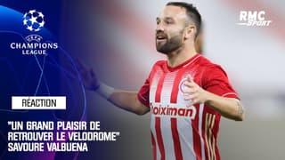 """Ligue des champions : """"Un grand plaisir de retrouver le Vélodrome"""" savoure Valbuena"""