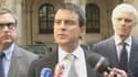 Manuel Valls s'est félicité de l'arrestation de Rédoine Faïd, profitant de l''occasion pour se montrer devant les caméras.