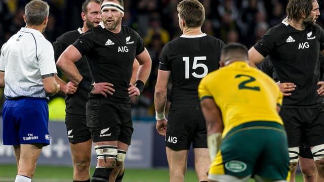 Les All Blacks corrigés en Australie