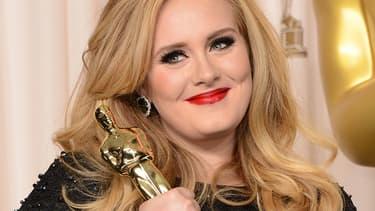 Adele aux Oscars 2013