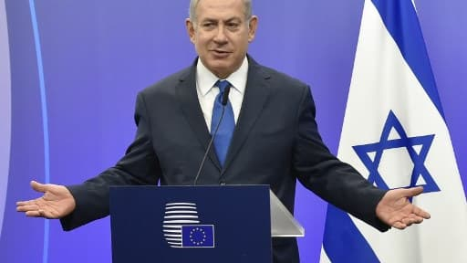 Le président d'Israël Benjamin Netanyahu, le 11 décembre 2017