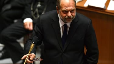Eric Dupond-Moretti lors de sa première séance de questions à l'Assemblée nationale, le 8 juillet 2020
