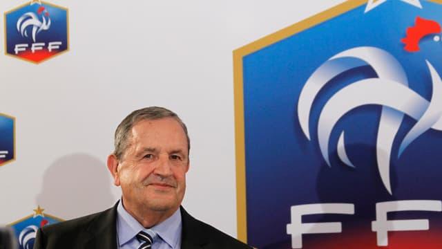 Fernand Duchaussoy espère rester président de la FFF.