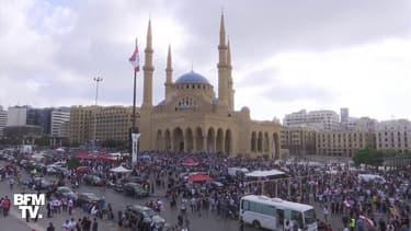 Explosions à Beyrouth: les Libanais manifestent contre les autorités et réclament des responsables