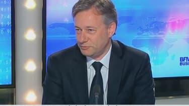 Marc Lelandais, l'ex-PDG de Vivarte, sur BFM Business en avril 2014.