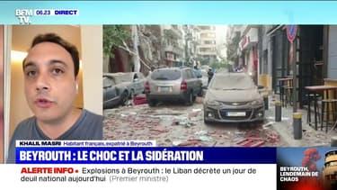 """""""Une ville déserte"""": un habitant de Beyrouth témoigne au lendemain des explosions"""