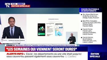 """Tous Anti-Covid: selon Cédric O, """"la CNIL a audité en profondeur et validé l'application"""""""