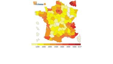 Découvrez les nouveaux prix de l'immobilier en France.
