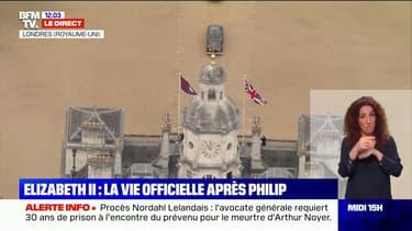 Royaume-Uni: la reine Elizabeth II effectue son premier déplacement officiel depuis la mort du prince Philip