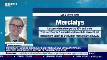Marc Girault (HMG Finance) : Mercialys, une société immobilière qui possède une cinquantaine de galeries marchandes autour de commerces Casino - 20/09