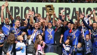 Les droits de la ligue 2 rapportent actuellement 15 millions d'euros par an