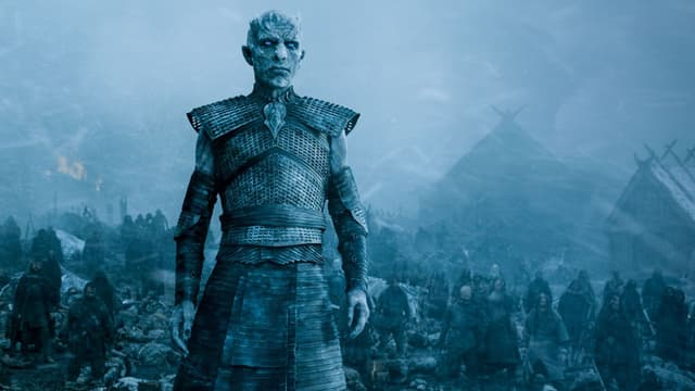 Un Marcheur Blanc dans Game Of Thrones