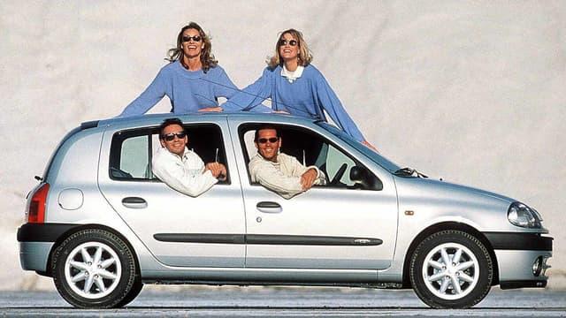 Les publicités pour la Clio ont marqué une époque.