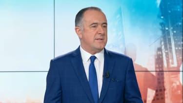 Le ministre de l'Agriculture Didier Guillaume sur BFMTV le 7 décembre 2018.