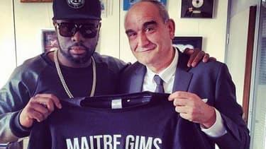 Pascal Nègre avec Maître Gims