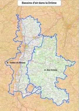 Le bassin de la Vallée du Rhône est en vigilance rouge pollution