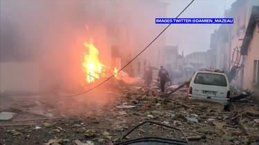 Une maison a explosé ce samedi 18 janvier 2020 à Limoges, vraisemblablement à la suite d'une fuite de gaz