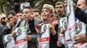 Une manifestation devant le consulat d'Arabie saoudite à Istanbul, où le journaliste Jamal Khashoggi a disparu, le 8 octobre 2018.