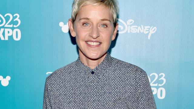 L'animatrice américaine Ellen DeGeneres.
